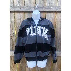 NWOT Victoria Secret Pink Zip Up Hoodie Jacket